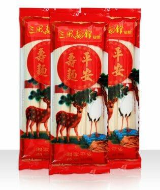 國泰民安平安麵線三束12包 - 11