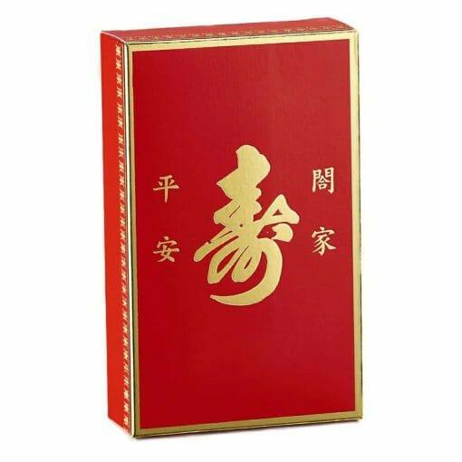 【加購】裝2入6束麵線的燙金外盒(不含內容物) - 7