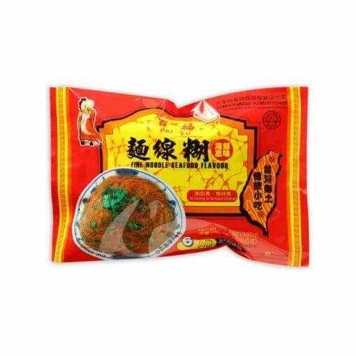 辣麵麵線糊綜合組(經典原味x1, 香蒜原味x1,海鮮麵線x2) - 7