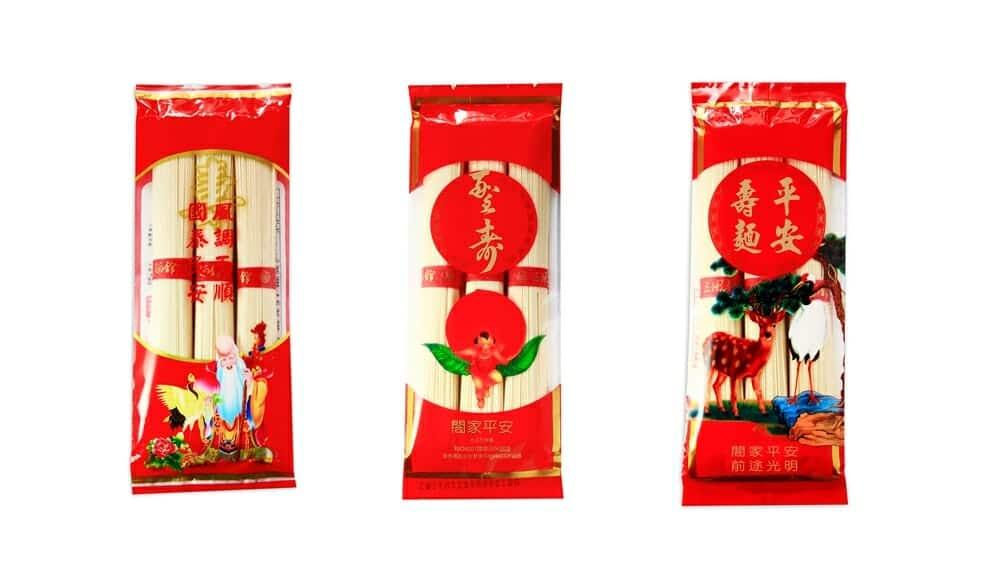 【加購】裝3束麵線的燙金外盒(不含內容物) - 8